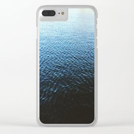 Unknown Pleasures Clear iPhone Case
