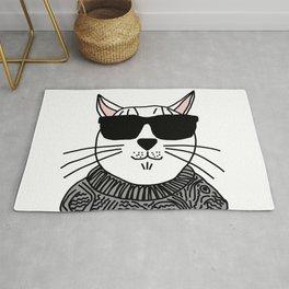 Kitty Cat Beatnik Rug