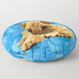 Shar-Pei puppy Floor Pillow