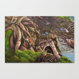 Uprooted (part 1) Canvas Print