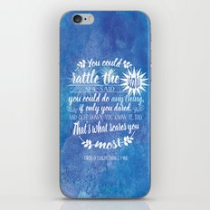 Throne of Glass by Sarah J. Maas Book Quote - Rattle The Stars iPhone & iPod Skin