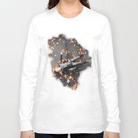 shameless Long Sleeve T-shirts featuring Ian gallagher,Shameless by Teya Ross