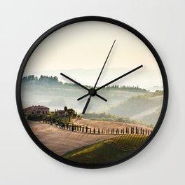 avenue of cypresses Wall Clock