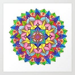 skyflower 5 Art Print