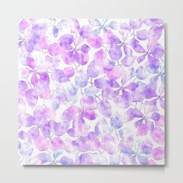 Watercolor Floral VI Metal Print