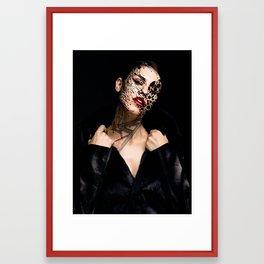 Between 2 worlds Framed Art Print