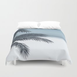 Palm and Ocean Duvet Cover