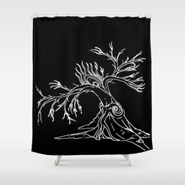 Consolation of Leaves Shower Curtain