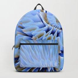 Blue 3D essence of a mandala Backpack