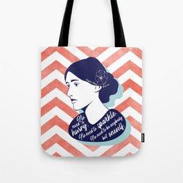 No Need - Virginia Woolf Tote Bag