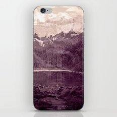 Olden Days Memories of the Mountain calling iPhone & iPod Skin