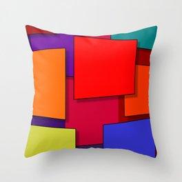 Expansion Throw Pillow