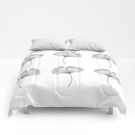 Ginkgo biloba pattern I Comforters