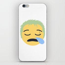 Roronoa Zoro Emoji Design iPhone Skin