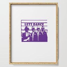Coffin Dance Meme Wanna Dance - Dance With Us Serving Tray