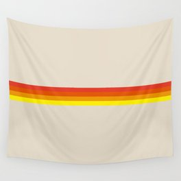 Impact - Colorful Abstract Stripes Wall Tapestry