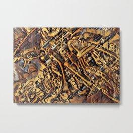 Steampunk HD Metal Print