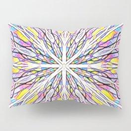 Stain Glass Kaleidoscope Pillow Sham