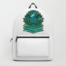 Angry Crocodile Backpack