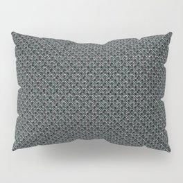 """""""A Thing About Number 9"""" Black & Pattern with Color Flecks Pillow Sham"""