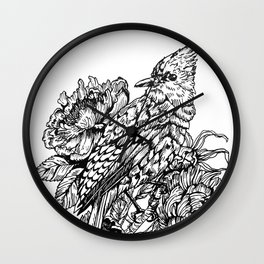 Jay Bird Wall Clock