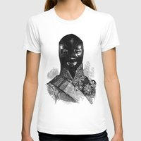 wrestling T-shirts featuring Wrestling mask 1 by DIVIDUS
