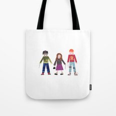 Harry, Hermione, and Ron Tote Bag
