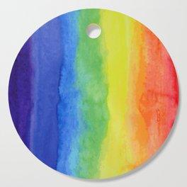 Primary Colors Art Deco Cutting Board