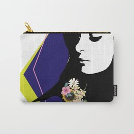 """""""Floral on my Sleeve"""" Carry-All Pouch"""