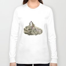 Lima. Bear and maiden. Long Sleeve T-shirt