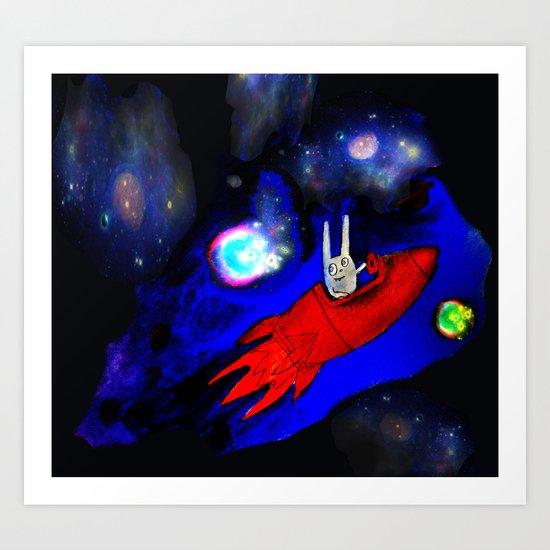 to Alpha Centauri! Art Print