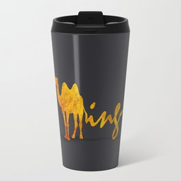 Gold Travel Mug