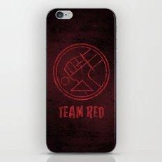 Team Red iPhone & iPod Skin