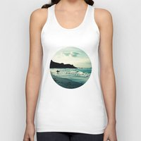 surf Tank Tops featuring Surf by Hilary Upton