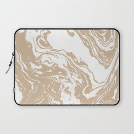 Masago - spilled ink abstract marble painting watercolor marbling cell phone case Laptop Sleeve