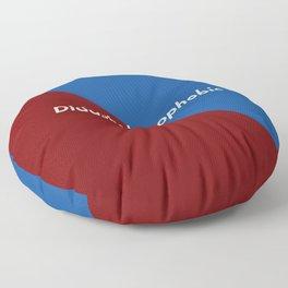 Didaskaleinophobic Floor Pillow
