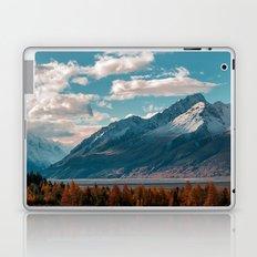 blue sky white clouds Laptop & iPad Skin