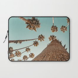 {1 of 2} Hug a Palm Tree // Tropical Summer Teal Blue Sky Laptop Sleeve