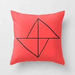 Ded Diamond Throw Pillow