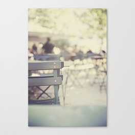 New York Lunch Canvas Print