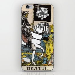 13 - Death iPhone Skin