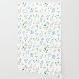 writer floral Wallpaper