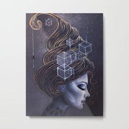 HEXY Metal Print