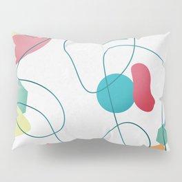 Geometric Miró Pattern Pillow Sham