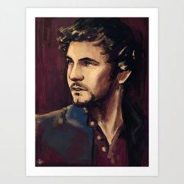 George Blagden Art Print