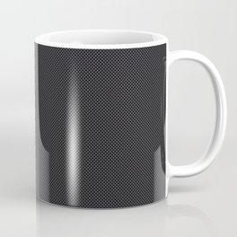 Simulated Black Carbon Fiber Coffee Mug
