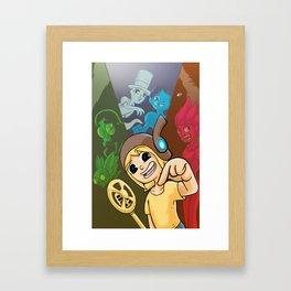 Ohmworld #1 Cover Framed Art Print