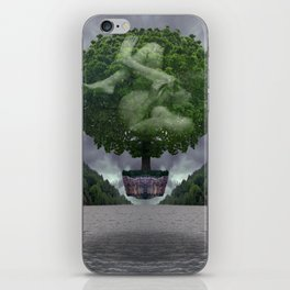 The Safety Series - Stormclouds iPhone Skin