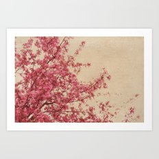April days Art Print