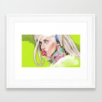 artrave Framed Art Prints featuring ArtRAVE by Dafni